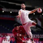 Frankreichs Handballer im Olympia-Finale