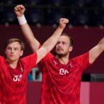 Dänische Handballer im Olympia-Finale gegen Frankreich